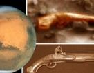 Phát hiện vật thể hình súng lục trên sao Hỏa