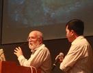 Sinh viên Bình Định hứng thú trò chuyện khoa học với GS Michel Mayor