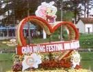 """""""Không gian hoa đẹp"""" - nét mới của Festival Hoa Đà Lạt 2012"""