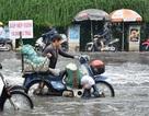 TPHCM: Cuộc sống đảo lộn vì mưa và triều cường