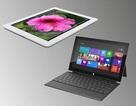 Tốc độ lướt web trên Surface RT kém xa iPad