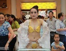 Bộ nội y bằng vàng ròng tại Trung Quốc