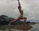"""Clip """"người đẹp sặc nước khi tập Yoga trên biển"""" nổi bật nhất Internet tuần qua"""
