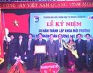 Khoa Môi trường đón nhận Huân chương lao động hạng Nhì