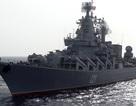 Tuần dương hạm tên lửa Moskva trở về Nga