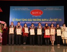 7 công trình nghiên cứu khoa học xuất sắc nhận giải thưởng Kova