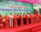 TP Vinh: Thêm một trường mầm non tư thục quy mô lớn ra đời