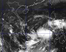 Áp thấp nhiệt đới đã đi vào biển Đông