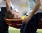 David Luiz bị vỡ mũi trong chiến thắng của Brazil trước Mexico