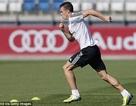 Gareth Bale hừng hực quyết tâm ngay trong buổi tập đầu ở Real Madrid