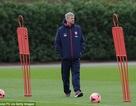 Wenger tự tin Arsenal sẽ đè bẹp Everton