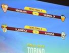 Bốc thăm Europa League: Đại chiến Tây Ban Nha
