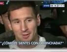 Messi bất ngờ bóng gió chuyện ra đi