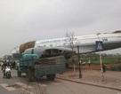 """Sự thật máy bay chở khách """"hạ cánh"""" trên cầu Vĩnh Tuy"""