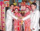 Ly kỳ đám cưới song sinh
