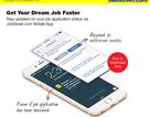 Tìm việc nhanh hơn với ứng dụng JobStreet.com Mobile App