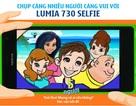 Chụp càng nhiều người càng vui với Lumia 730 Selfie