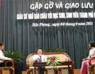 GS Ngô Bảo Châu giao lưu với HS, SV Hải Phòng