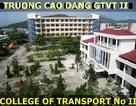 Trường CĐ GTVT II Đà Nẵng thông báo xét tuyển Cao đẳng nguyện vọng bổ sung năm 2013