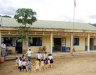 Quảng Ngãi: Học sinh tựu trường dưới… lòng hồ thủy điện