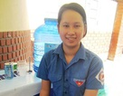 Cô gái khuyết tật và niềm đam mê tình nguyện
