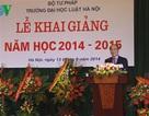Chủ tịch Quốc hội dự khai giảng tại Đại học Luật Hà Nội