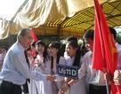 Chủ tịch Ủy ban Trung ương Mặt trận Tổ quốc dự khai giảng tại Trà Vinh