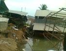 Tiếp tục sạt lở ven sông Hậu, 27 nhà dân di dời khẩn cấp