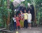 Xót xa cảnh 6 mẹ con sống trong túp lều rách nát