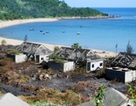 Đà Nẵng: Cháy lớn ở bán đảo Sơn Trà