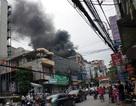 Hà Nội: Cháy lớn trên phố Khâm Thiên
