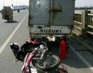Hà Nội: Người phụ nữ bị xe tải cán nát chân