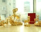 Quà Tết Ất Mùi: Tượng, tiền, cây… hình dê hút khách