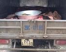 Hà Nội: CSGT phát hiện 1 tấn da trâu nhập lậu