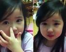 """Bé gái khóc dễ thương khiến cư dân mạng """"nghiêng ngả"""""""