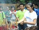 Hoa hậu Ngọc Hân tham gia hành trình hướng về đất Tổ