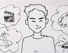 """Clip """"vẽ"""" chuyện đời chàng vlogger thu hút 100.000 lượt xem"""