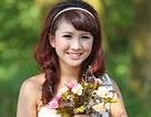 """Nữ sinh Hà Nội xinh đẹp trong bộ ảnh """"cô dâu một mình"""""""