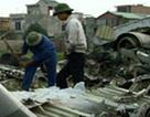 Ngày xuân về làng chuyên gom xác máy bay để bán... sắt vụn