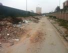 Khu đô thị trở thành bãi phế thải xây dựng giữa Thủ đô