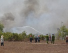 Dập tắt đám cháy lớn tại cánh rừng rộng hàng chục hecta