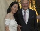 Tỷ phú George Soros lần thứ 3 lên xe hoa ở tuổi 83