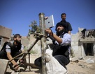 Phe đối lập Syria dùng iPad để ngắm bắn súng cối