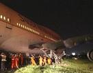 Máy bay Ảrập xê út chở gần 300 khách lao khỏi đường băng