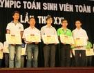Đà Nẵng: Trao giải thưởng Olympic Toán học sinh viên toàn quốc
