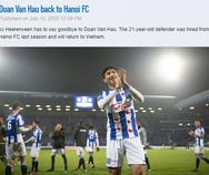 Heerenveen lên tiếng cảm ơn, lý giải vì sao chia tay Văn Hậu