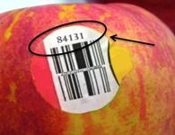 Mua trái cây nhập ngoại, đừng quên kiểm tra dãy số này trên tem