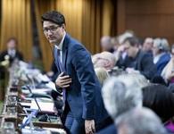 Thủ tướng Canada xin lỗi vì ăn kẹo trong giờ họp