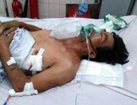 Khốn khổ vợ ung thư vật vã chăm chồng bị tai nạn giao thông gãy loạt xương sườn