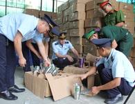 Hải quan bắt 280 kiện hàng giả xuất xứ Thái Lan tại Lạng Sơn